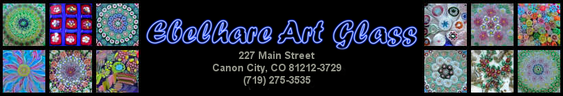 Ebelhare Art Glass, Canon City, CO 81212-3729